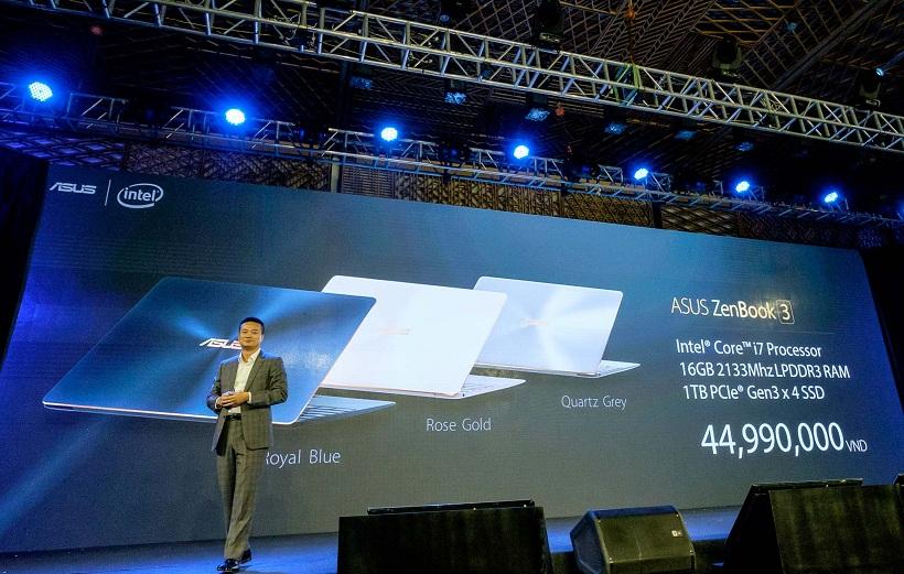 Giá bán và cấu hình của Zenbook 3.