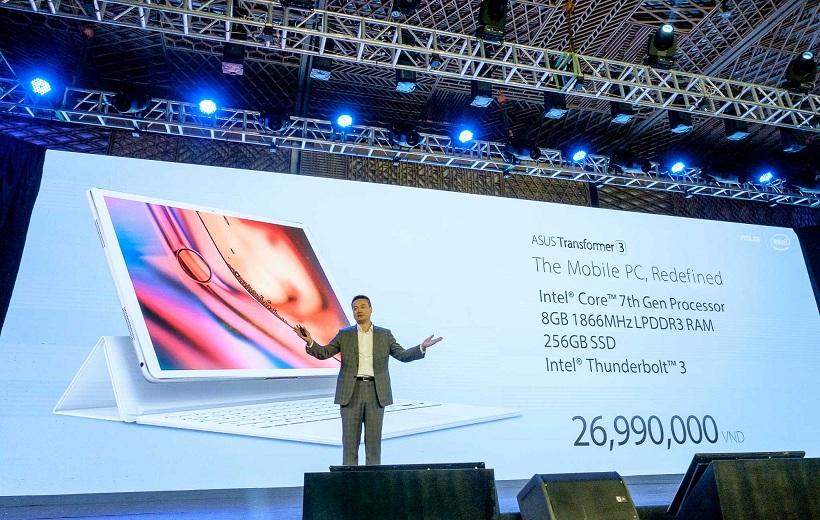Giá bán và cấu hình của Zenbook Transformer 3.