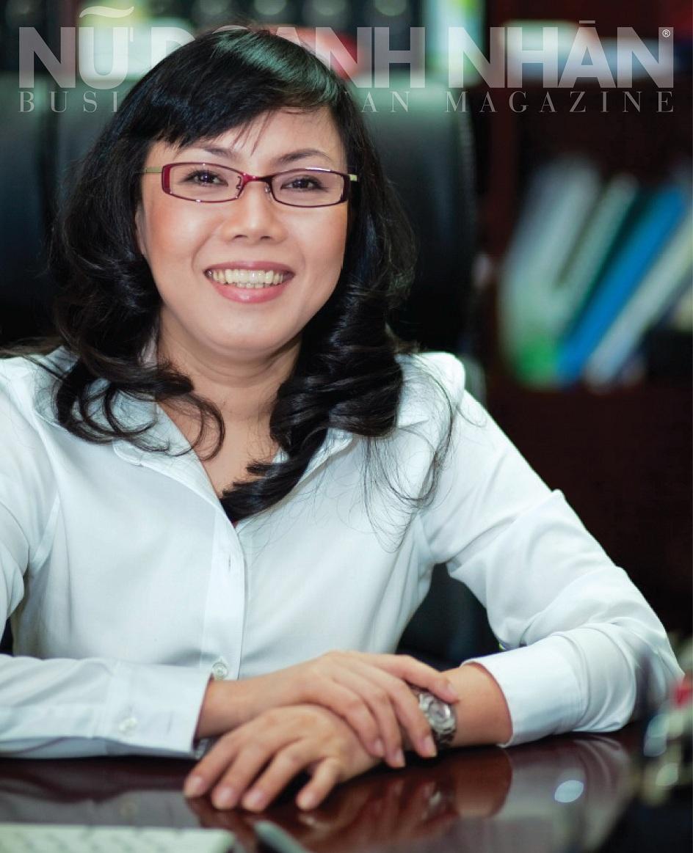 """Bà Đặng Minh Phương - CEO MP Logistics được CNBC gọi là """"nữ hoàng"""" logistics Việt Nam."""