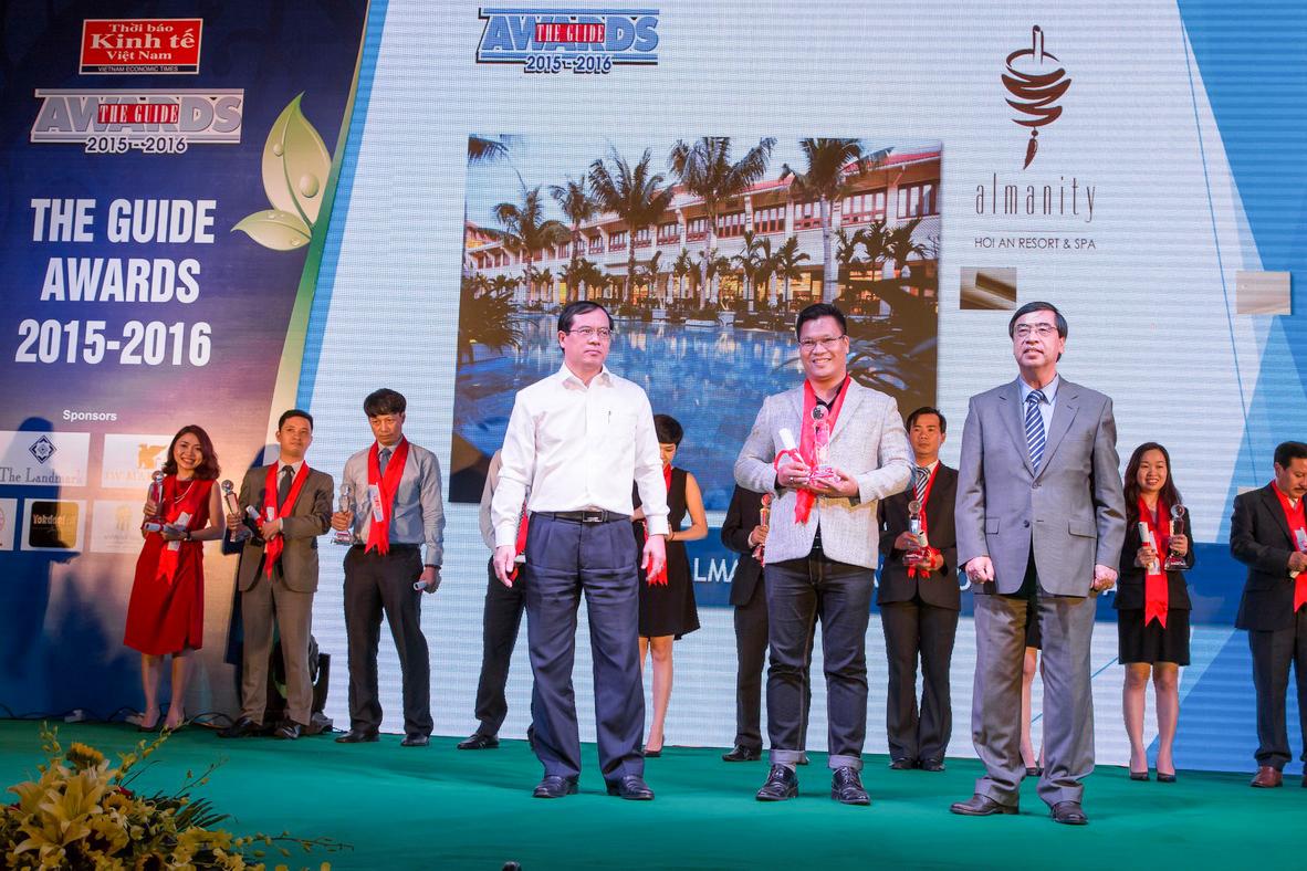 Almanity Hoi An Resort & Spa nhan giai The Guide Awards 2015-2016 1