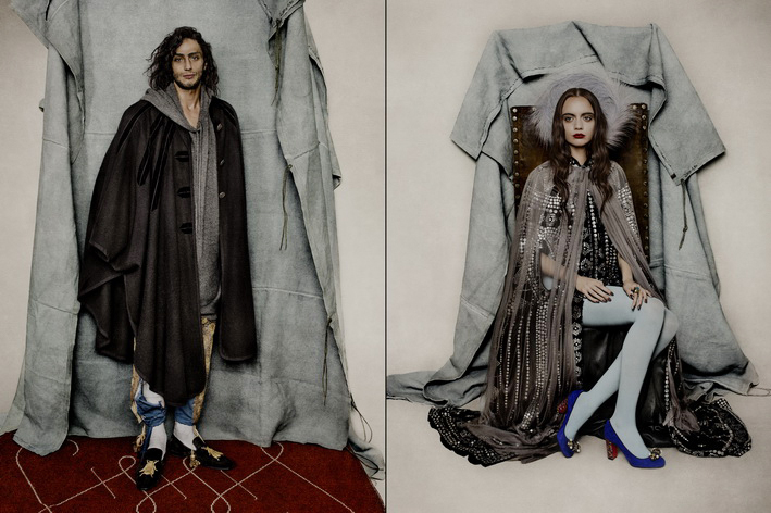 Sử dụng chất liệu sang trọng như nhung và vải moire, nổi bật bởi các chi tiết thêu thủ công, một trong những thiết kế đặc trưng được yêu thích của Christian Louboutin.