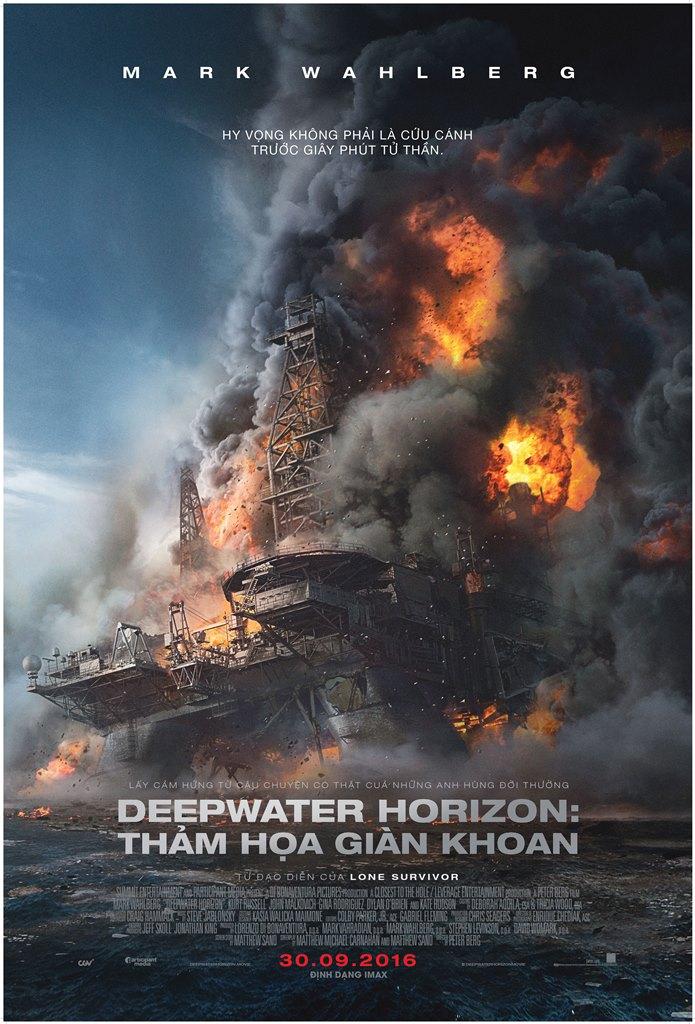Deepwater Horizon - Final Poster - Vietnam
