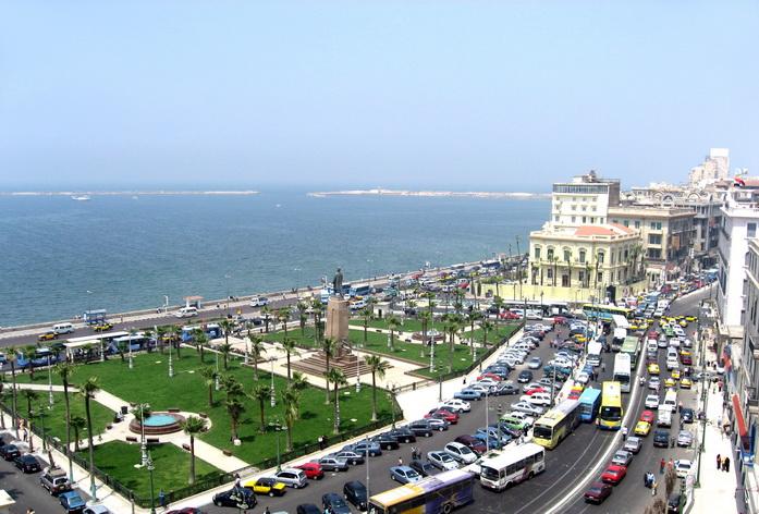 Thành phố Alexandria bên bờ Địa Trung Hải