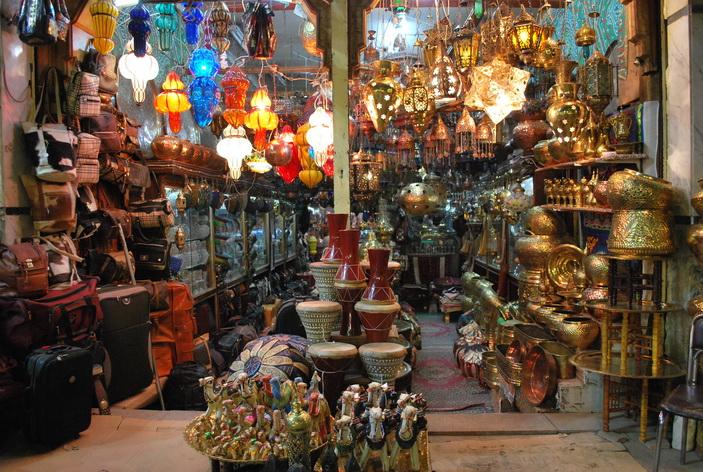 Chợ cổ Khan El Khaliah Bazzaz - Cairo
