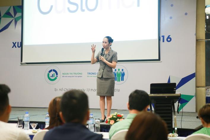 Bà Nguyễn Trịnh Khánh Linh – Chủ tịch & Tổng Giám đốc Dale Carnegie Việt Nam