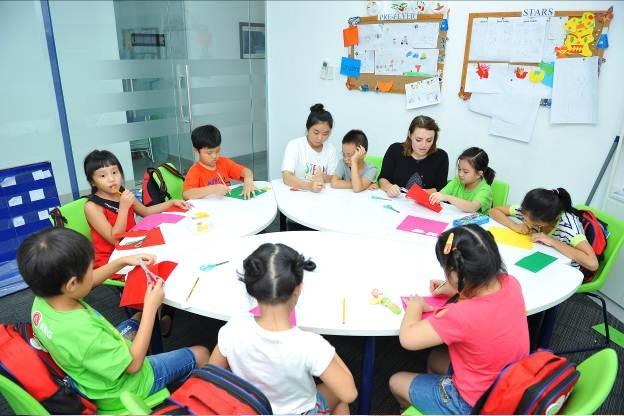 Sĩ số lớp học tiêu chuẩn ở AEG từ 8-12 học sinh có thể mang lại chất lượng giảng dạy và học tập tốt nhất.