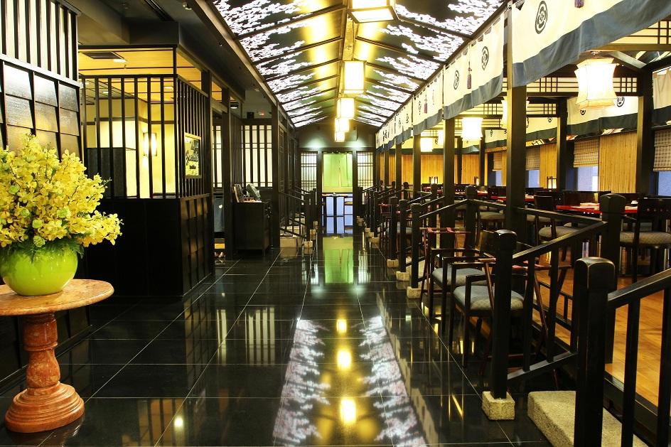 Không gian ẩm thực tại Yoshino.
