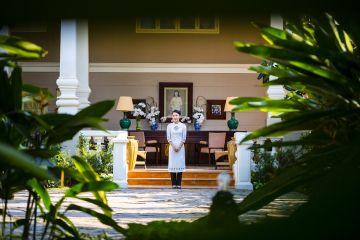 La Veranda Phú Quốc được ví như một ngôi biệt thự Pháp thuộc bên bờ biển.