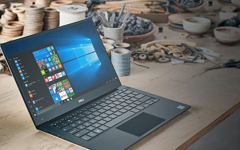 XPS 13 9350 có viền màn hình siêu mỏng chỉ 5.2mm.
