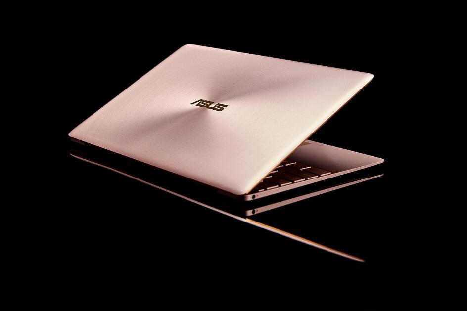 ZenBook 3 có 3 phiên bản màu lạ mắt và tuyệt đẹp: vàng hồng, xám thạch anh và xanh hoàng gia.