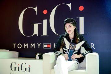 Fashionista Helly Tống trong bộ trang phục của TommyxGiGi.