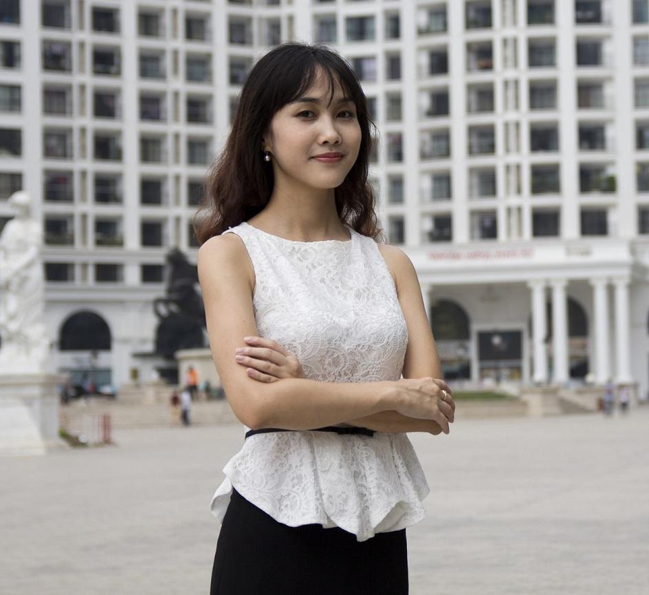 Chị Vũ Nguyệt Ánh – Founder & CEO của Rudicaf.