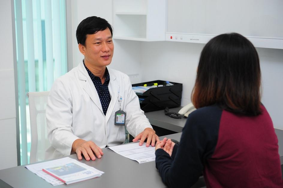 Bác sĩ Đỗ Quang Minh.