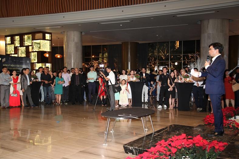 Khách sạn chào đón 250 vị khách quý cùng hơn 40 cơ quan báo đài đến tham dự.
