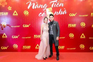 Cặp đôi diễn viên chính trong phim - Khả Ngân và Minh Luân.