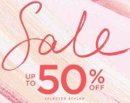 Sắm thời trang giảm đến 50% tại Coast