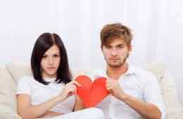 couple break heart