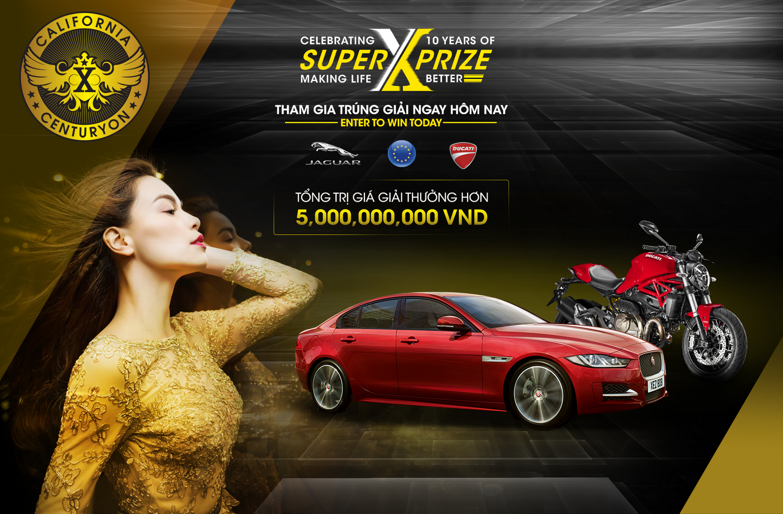 NDN_Co hoi so huu sieu xe Jaguar cua SUPER X-PRIZE