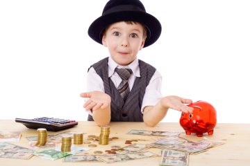 Dạy con hiểu về Tiền