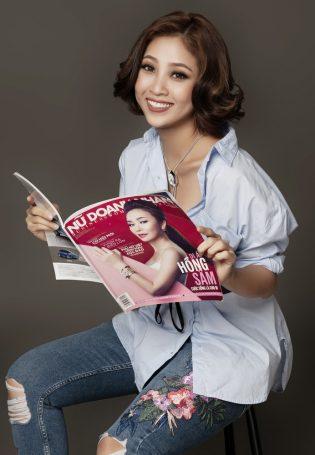 MC Liêu Hà Trinh: Phụ nữ cần sống hạnh phúc mỗi ngày!