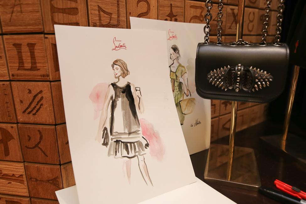 Mẫu ví Sweety Charity được yêu thích của Christian Louboutin.