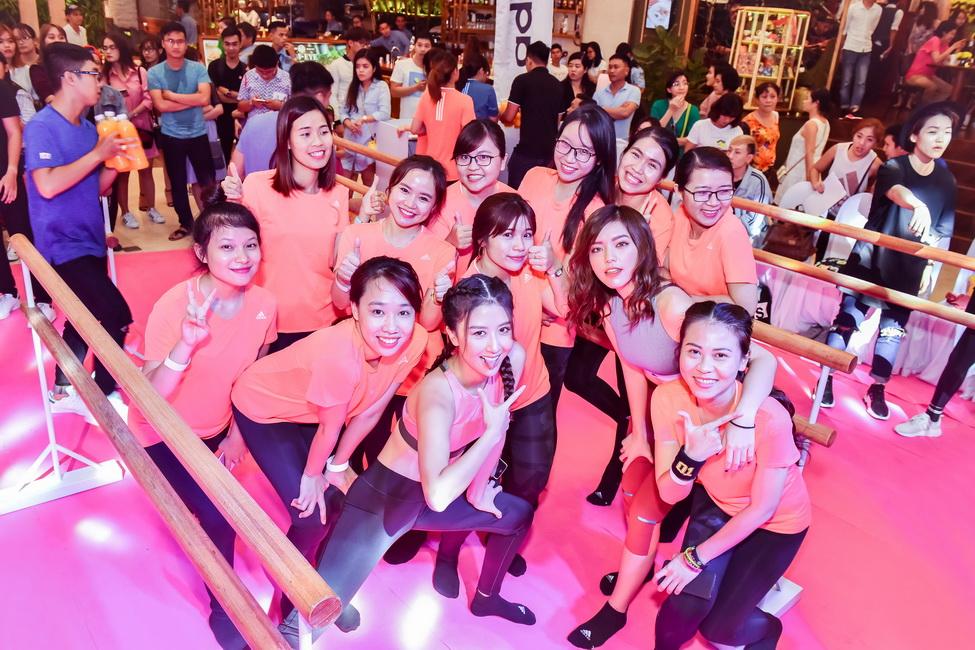Quỳnh Anh Shyn và các fans thích thú với bộ môn thể thao mới