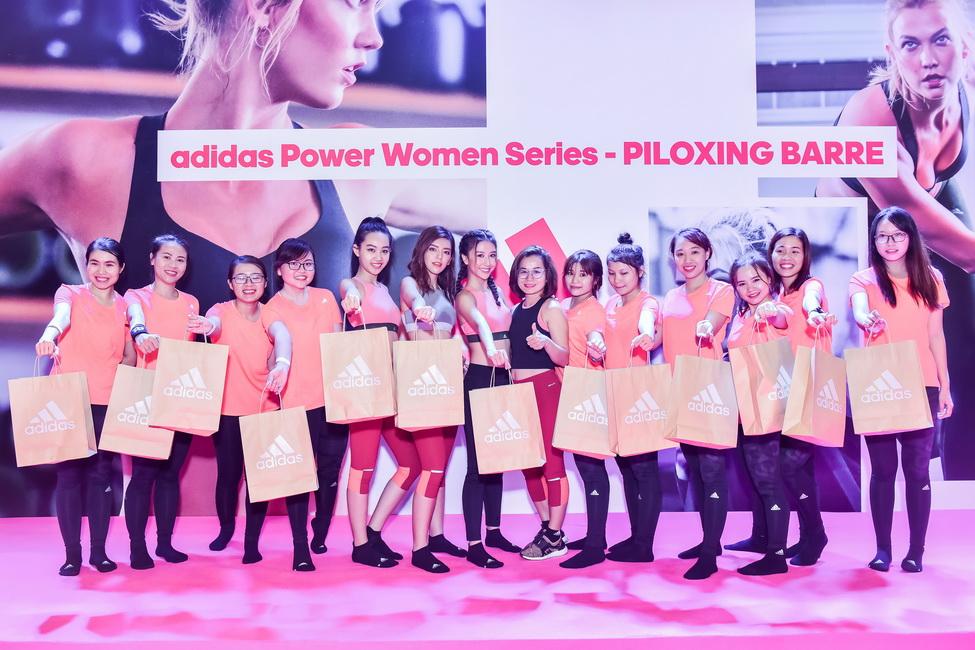 Những cô nàng xinh đẹp và yêu thích thể thao của showbiz Việt tham dự sự kiện