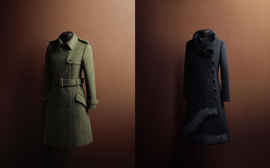 Các thiết kế áo khoác mang phong cách quân đội của Max Mara trong những năm 1968 – 1970
