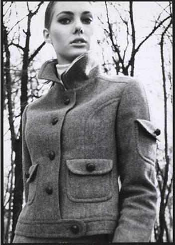 Áo khoác Thu Đông 1965 Max Mara