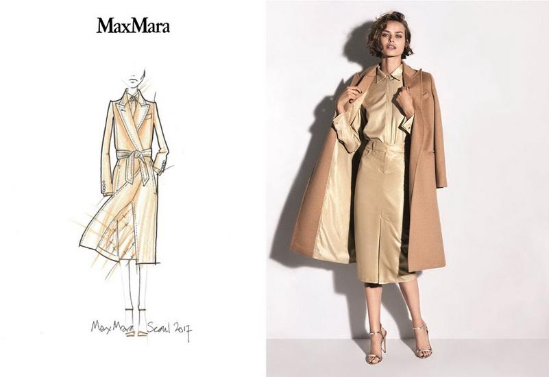 Thiết kế áo khoác phiên bản đặc biệt tại triển lãm Max Mara Coats! Seoul năm nay
