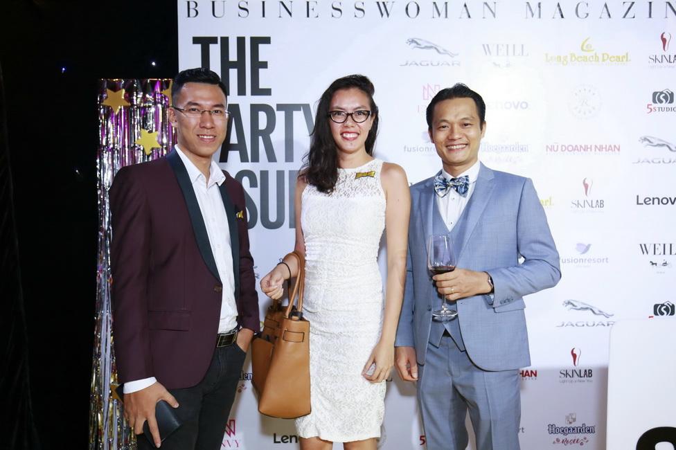 Chị Đinh Thanh Nhân đến từ Công ty Anheuser-Busch InBev Việt Nam.