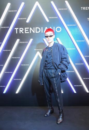 Sự kiện khai trương Trendiano có sự tham gia của nhiều stylist hàng đầu V-biz như Kelbin Lei