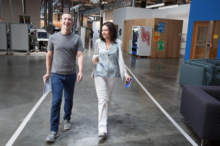 Sheryl Sandberg là người đặc biệt quan trọng bên cạnh Mark Zuckerberg tại Facebook.