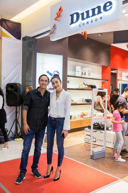 Vợ chồng Tăng Thanh Hà - Louis Nguyễn