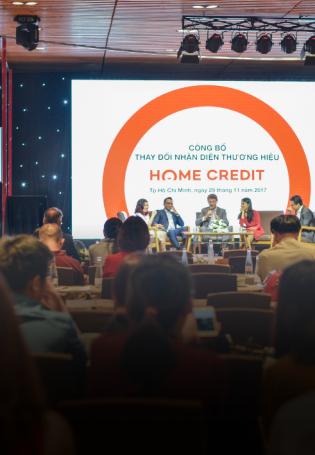 Home Credit Việt Nam thay nhận diện thương hiệu
