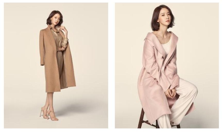 Yoona càng xinh đẹp và mặn mà hơn trong những mẫu áo khoác kinh điển của Max Mara