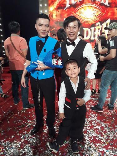 Ảo thuật gia Quốc Cường thích thú với màn trình diễn đêm Chung kết của Việt duy