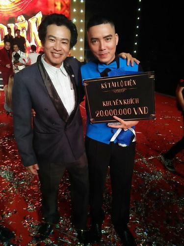 Ảo thuật gia David Thanh đến ủng hộ và chúc mừng Việt Huy