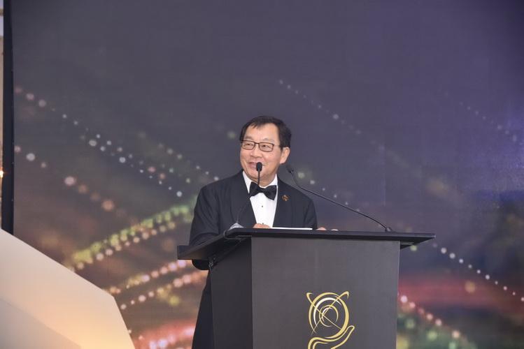 Tiến sĩ Fong Chan Onn, Chủ tịch Enterprise Asia phát biểu khai mạc sự kiện
