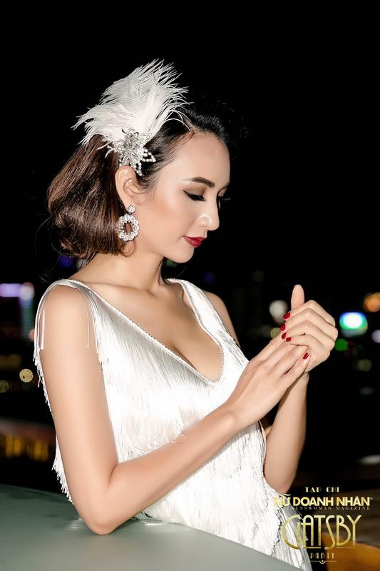 Vẻ đẹp quyến rũ của Hoa hậu Ngọc Diễm thu hút mọi ánh nhìn