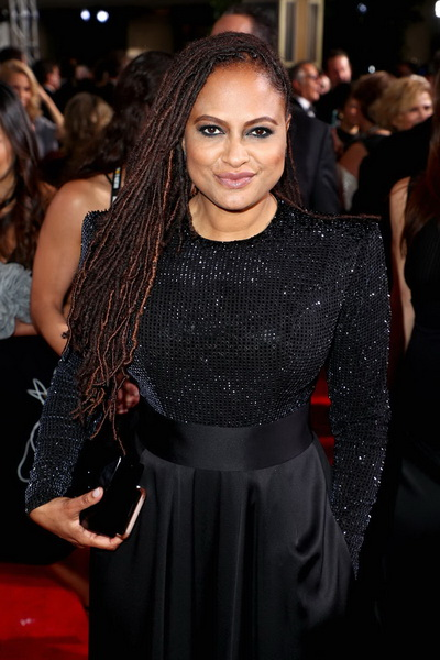 BEVERLY HILLS, CA - JANUARY 07: Ava DuVernay celebrates The 75th Annual Golden Globe Awards with Moet & Chandon at The Beverly Hilton Hotel on January 7, 2018 in Beverly Hills, California. (Photo by Joe Scarnici/Getty Images for Moet & Chandon)