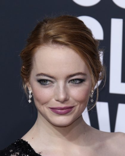 Arrivals for the 75th Golden Globe Awards ceremony, at the Beverly Hilton, Beverly Hills, California Pictured: Emma Stone Ref: SPL1643289 070118 Picture by: Splash News Splash News and Pictures Los Angeles:310-821-2666 New York: 212-619-2666 London: 870-934-2666 photodesk@splashnews.com