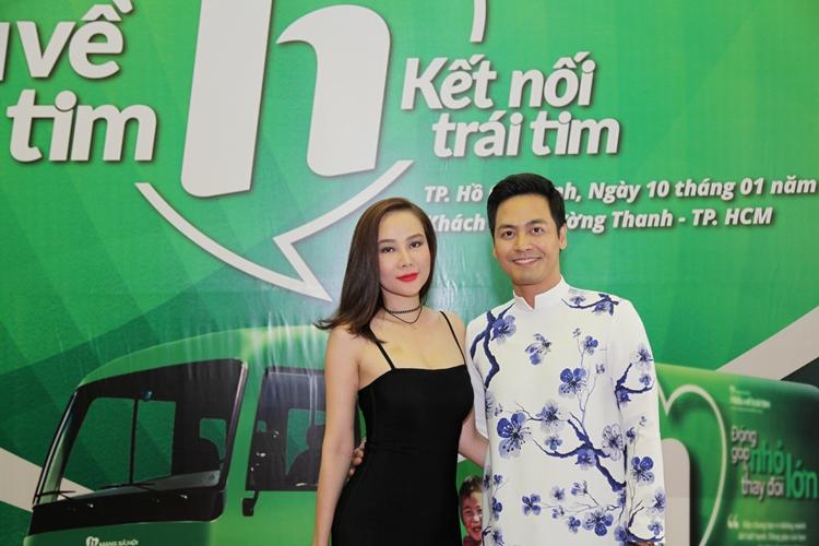 Dương Yến Ngọc và MC Phan Anh
