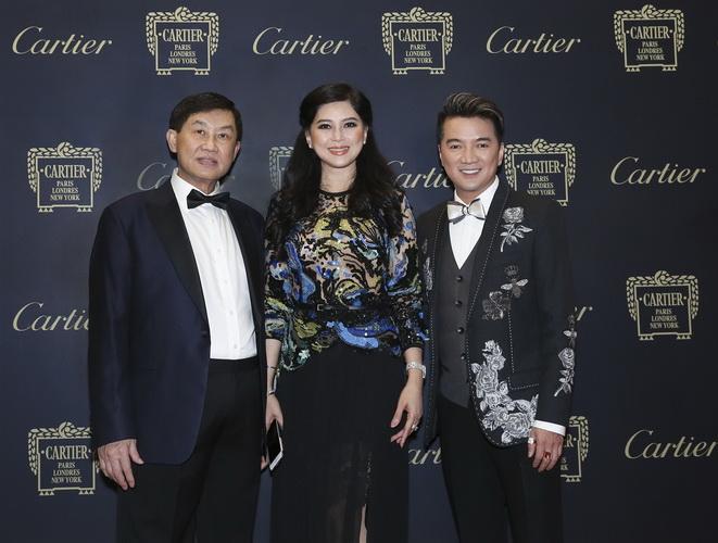 Vợ chồng doanh nhân Jonathan Hạnh Nguyễn và Đàm Vĩnh Hưng