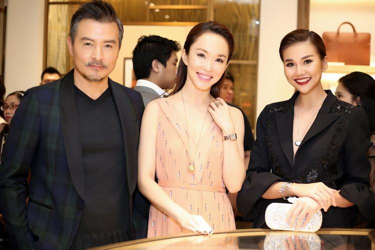 Vợ chồng Lý Minh Thuận - Phạm Văn Phương và siêu mẫu Thanh Hằng