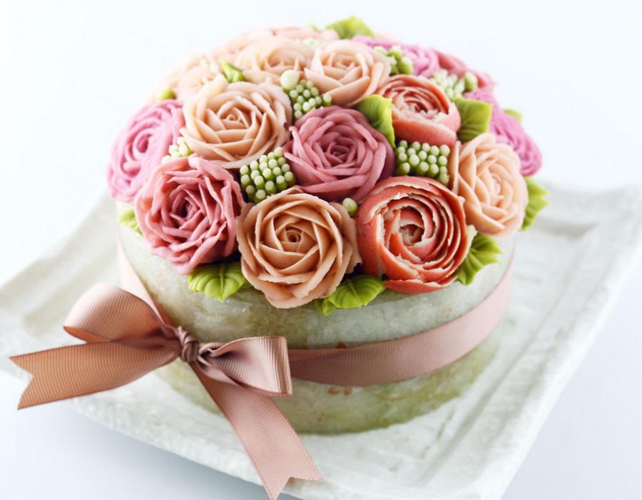 Hoa xôi đậu thay thế bánh sinh nhật là một ý tưởng tuyệt vời