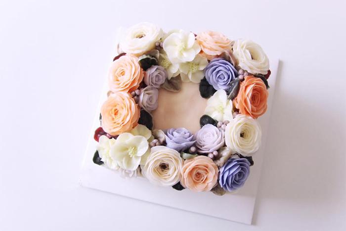 Hoa xôi đậu đẹp phụ thuộc nhiều vào màu sắc của nguyên liệu