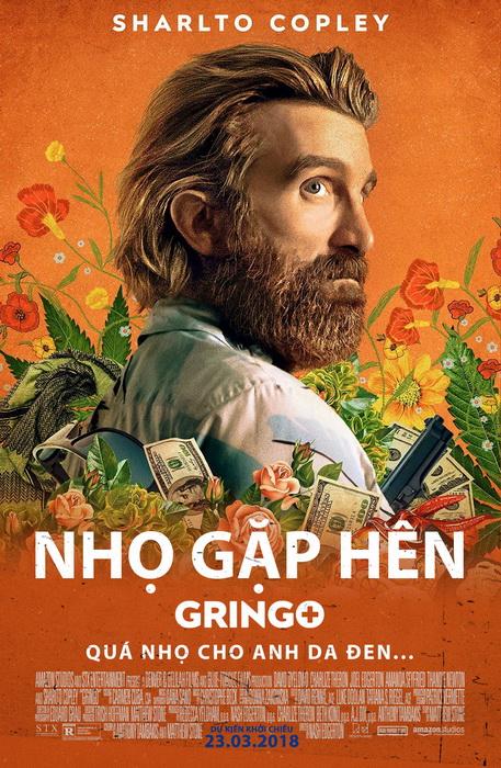Hình tượng nam diễn viên Sharlto Copley trong Gringo