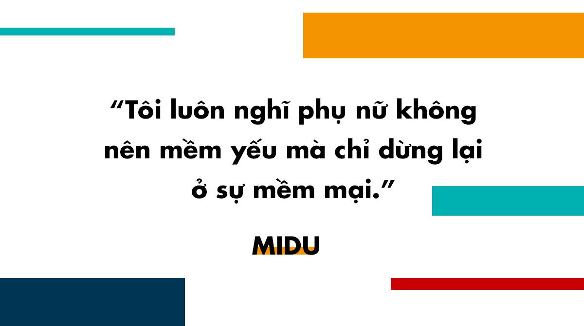 phỏng vấn Midu
