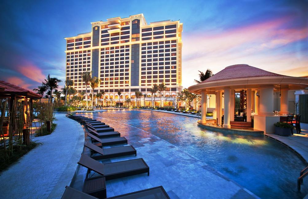 resort huong bien khu nghi duong The Grand Ho Tram Resort & Casino
